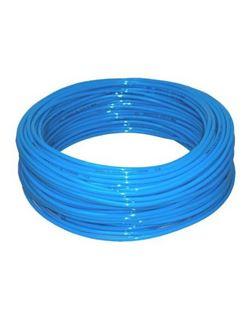 Tubo poliuretano pu98 azul r/25 mt. 4x6