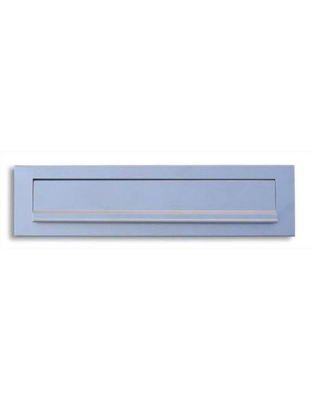 Bocacartas aluminio plata - FEPBOALUMPLA