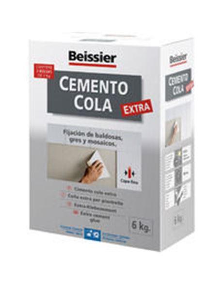 Aguaplast cemento cola gris 6 kg. - BEIAG771