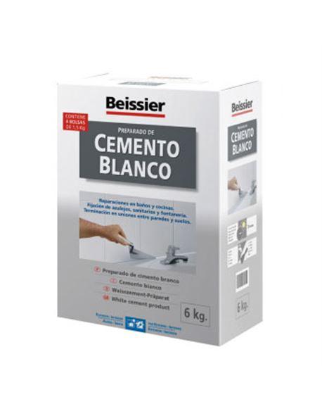 Aguaplast cemento blanco 6 kg. - BEIAG776B