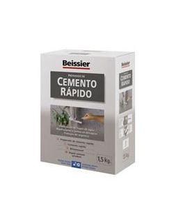 Aguaplast cemento rapido gris 1.5 kg.