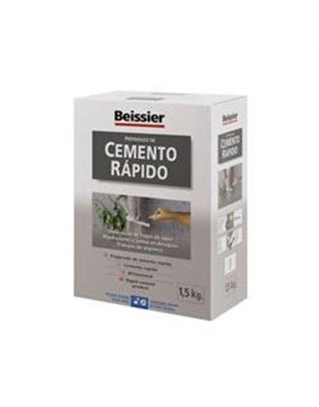Aguaplast cemento rapido gris 1.5 kg. - BEIAG772