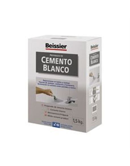 Aguaplast cemento blanco 1.5 kg. - BEIAG776