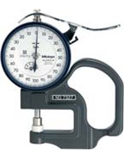Calibrador reloj espesores 0-10 7301