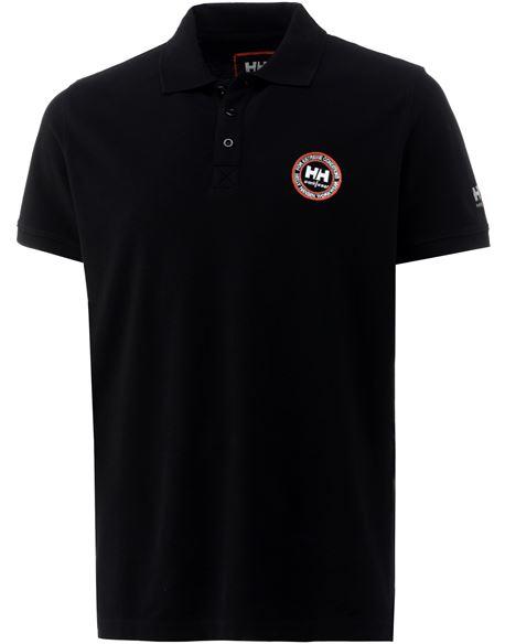 Polo cherter 990 black l - HHAVE79104990L