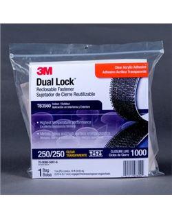 Dual lock bolsas tb3560 transp.