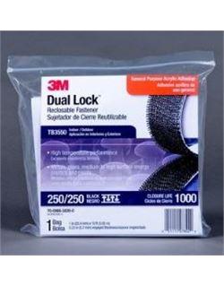 Dual lock bolsas tb3550 negro