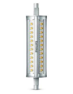 Bombilla led lineal 118 mm. 100 w.3000k