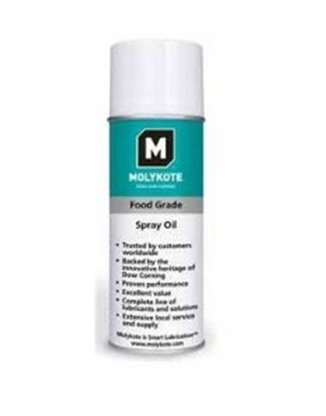 Aceite spray h-1 food grade 400 ml. - MOLACFOODG0400