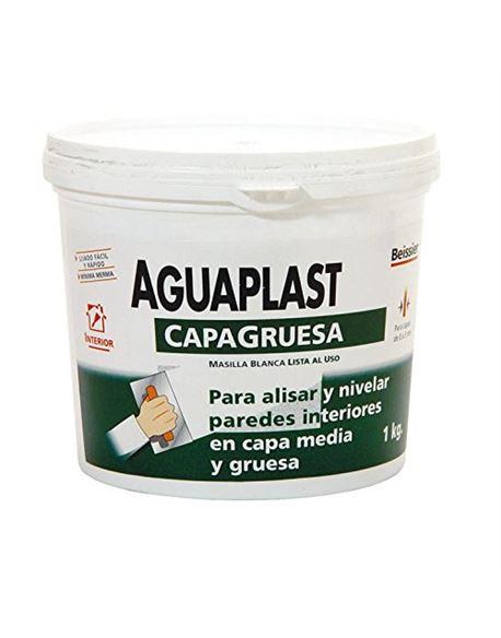 Aguaplast rellenos capa gruesa tarro 1 kg. - BEIAGG820