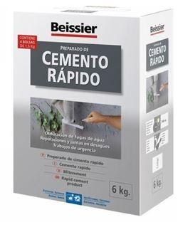 Aguaplast cemento rapido gris 6 kg.