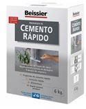 Aguaplast cemento rapido gris 6 kg. - BEIAG772B