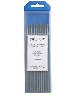 Electrodo tungsteno (10 u.) 1,00 negro