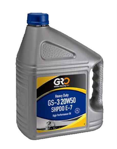 Aceite de motor gs-3 sae 20w50 shpd 5 lt. - COGACMOGS32050