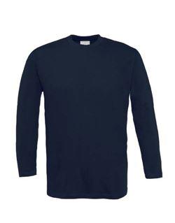 Camiseta manga larga marino s