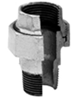 Tuerca unión macho-hembra galvanizado ref.341 2 1/2''