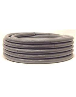 Mt. tubo pvc flexible esp. 20 m/m.