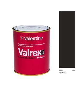 Esmalte valrex brillante negro 750