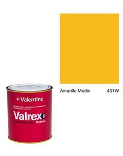 Esmalte valrex bte. bs 0,750 amarillo medio
