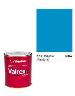 Esmalte valrex bte. bs 0,750 azul radiante
