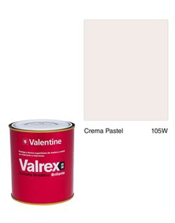 Esmalte valrex bte. bs 0,750 crema pastel