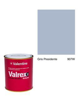 Esmalte valrex bte. bs 0,750 gris presidente