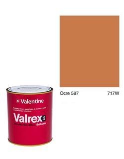 Esmalte valrex bte. bs 0,750 ocre