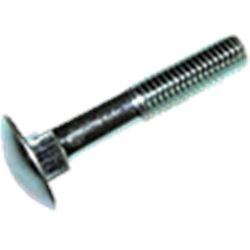 Tornillo din 603 c/tuerca zinc. m- 6x040