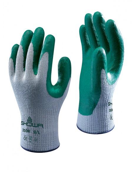 Guante alg/poli. palma nitrilo nº 350
