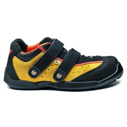 Zapato amarillo cricket record b632 45