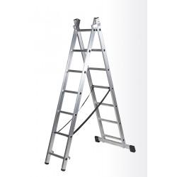 Escalera doble ref. 42566 6 peld.