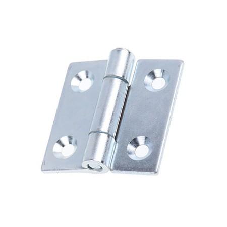 Bisagra hº zincada plana ref. 553 100x100