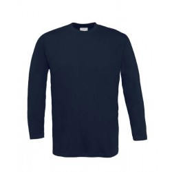 Camiseta manga larga marino m