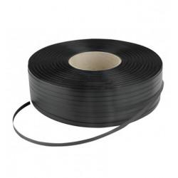 Kg. fleje plastico bobina 13 mm. negro