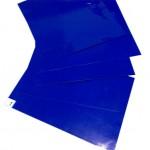 ALFOMBRA 30 LAMINAS ADHESIVAS DESINFECTANTE 90x115 BLUE