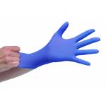 Caja 100 und. guantes nitrilo azul nº 81 nit4.6