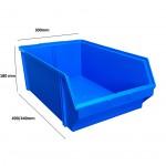 Caja plastico jealman ref. j-5
