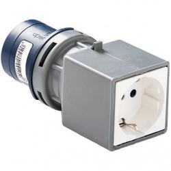 ADAPTADOR IP-44 CLAV. 2P+T BASE 2P+TTL 13910
