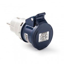 ADAPTADOR IP-44 CLAV. 2P+TTL BASE 2P+T 13912