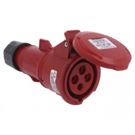 Base ip-44 movil 16a 380/415v 3p+t 23300