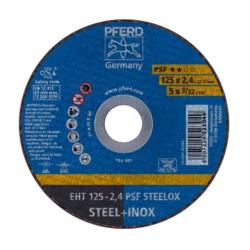 Disco corte eht 125x2,4 a46p psf-inox 25unidades