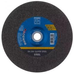 Disco corte 25u. eh 230x3,0 a24p psf-inox
