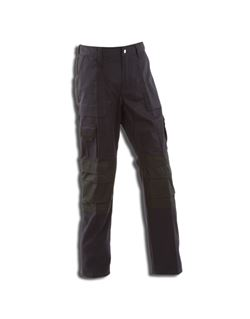 Pantalon texas marino/negro l