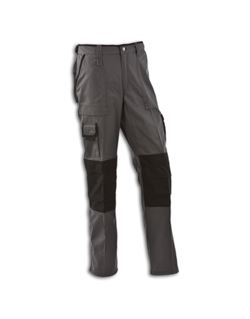 Pantalón texas gris/negro l