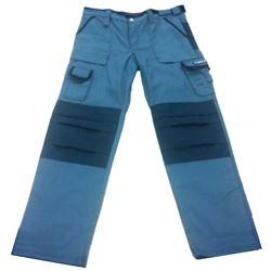 Pantalón texas gris/negro m