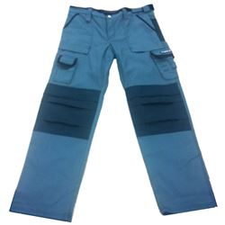Pantalon texas gris/negro xl
