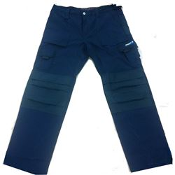 Pantalon texas marino/negro xxl