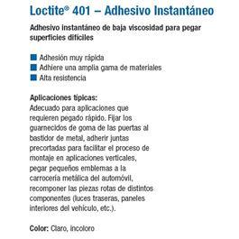 Bote universal 401 05 gr. - LOCTITE 401
