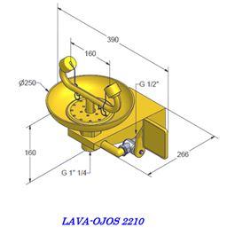 Lava ojos emergencia mod.2210 - LAVA-OJOS-2210