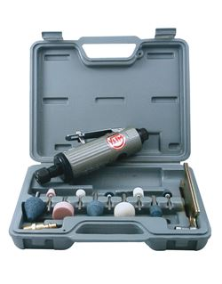 Amoladora recta 22000 rpm.c/kit ya-824-kit